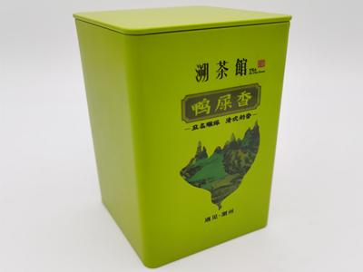 茶叶罐UV数码印刷效果