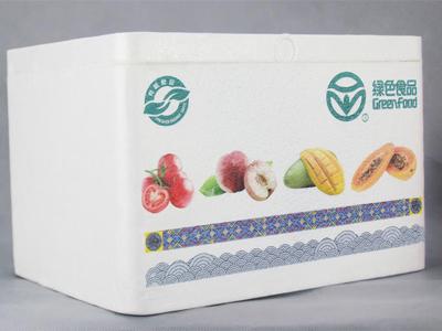蔬菜水果泡沫箱印刷